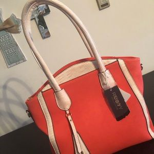 Handbags - Coral ladies hand bag ... Sash sold Separately